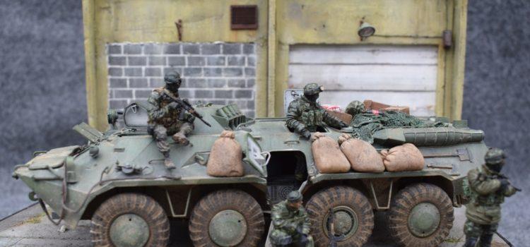 BTR 80 – Dombas 2015