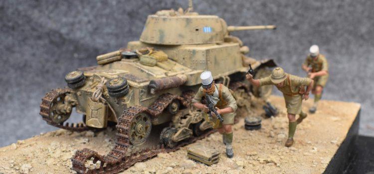 M13/40 – Bienvenue à Bir Hakeim 1942