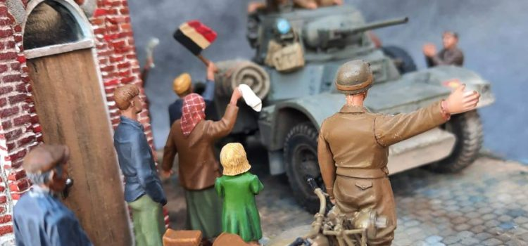 THUIS … back in Belgium – Rongy sept 1944