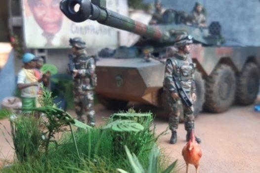 AMX10 – Operation Licorne – Cotes d'Ivoire 2004